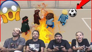 The CRAZIEST Game of Gang Beasts Soccer You'll Ever See!