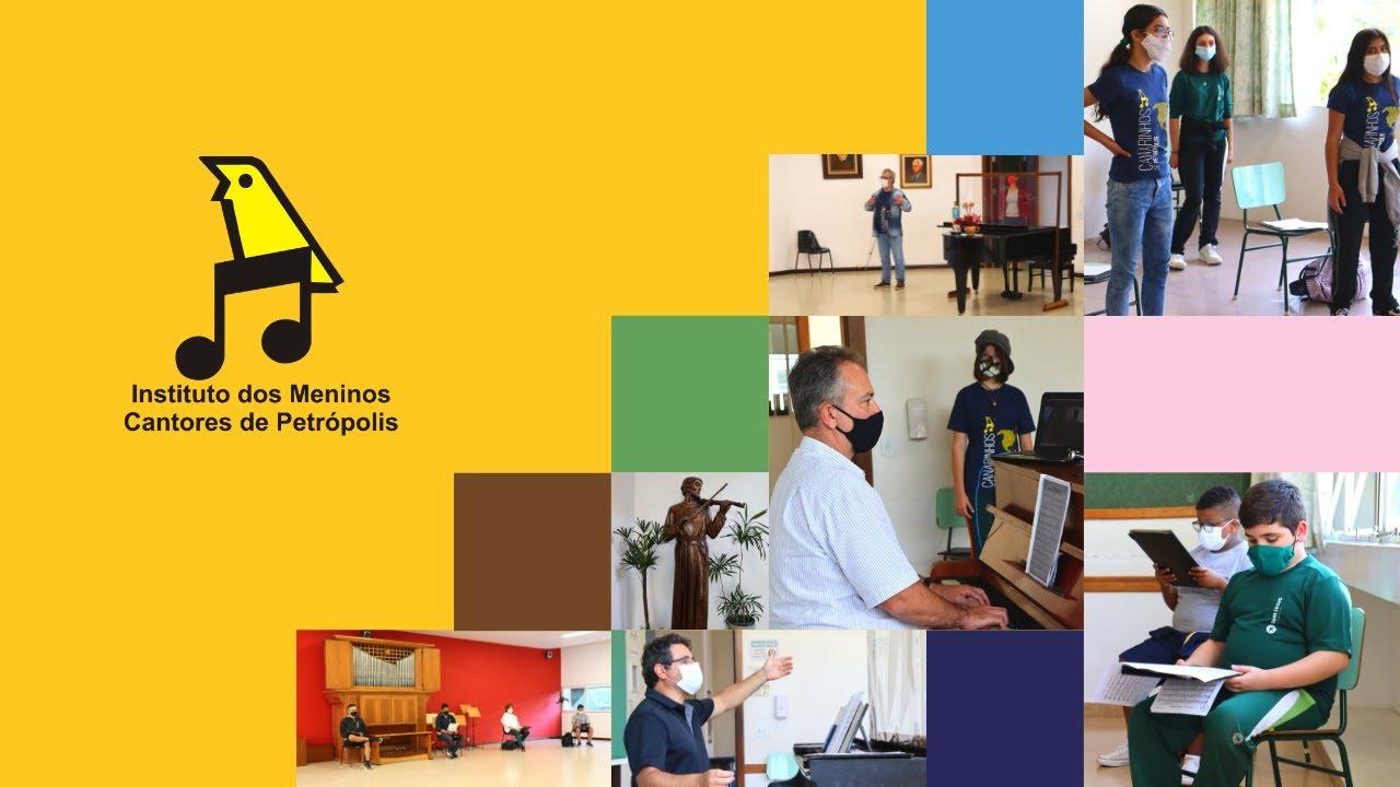 Retorno das atividades no Instituto dos Meninos Cantores de Petrópolis