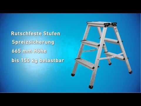 Produkt der Woche 14 - Bockleiter mit 3 Stufen