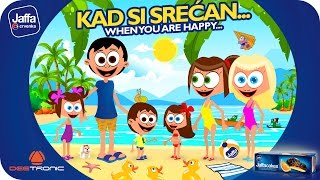 Kad si srećan (If You're Happy and You Know It) Nursery Rhymes for Kids powered by Jaffa
