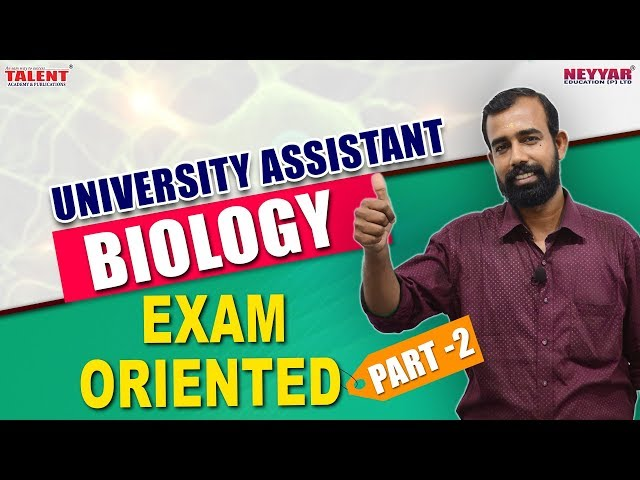 Most Expected Biology Questions for University Assistant Exam