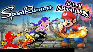 SPEEDRUNNERS: SUPER SMASH BROS EDITION!! Speedrunners - Funny Moments & FAILS