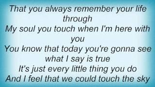 Eric Johnson - Alone With You Lyrics