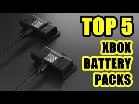 TOP 5 ❌ Best Rechargeable Battery Pack for Xbox One 2021 | Xbox Series