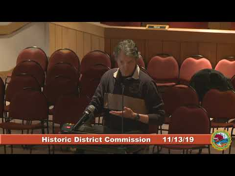 Historic District Commission 11.13.19