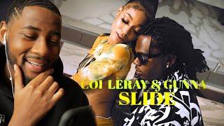 Coi Leray - Slide feat. Gunna (Official Video) 🔥 REACTION