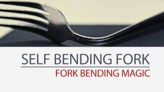 Self Bending Fork - Metal Bending Magic Tricks - Shift - Gimmick