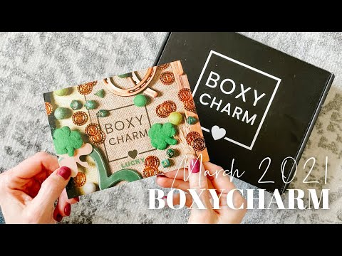 BOXYCHARM Unboxing March 2021