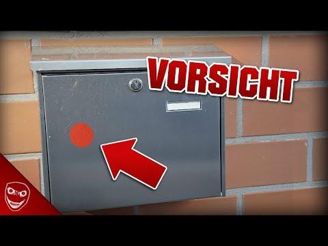 Wenn du rote Aufkleber auf deinem Briefkasten siehst, lauf weg! FEMA Camps Wahrheit!