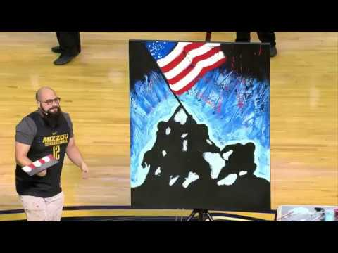 @MizzouHoops National Anthem - Joe Everson vs. Kentucky