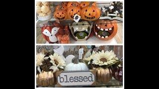 HOMEGOODS FALL AND HALLOWEEN DECOR 2018