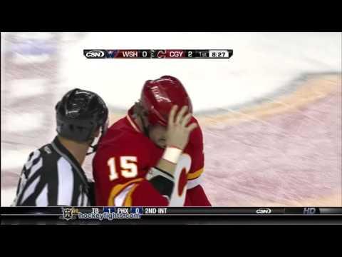 Tim Jackman vs. Matt Hendricks