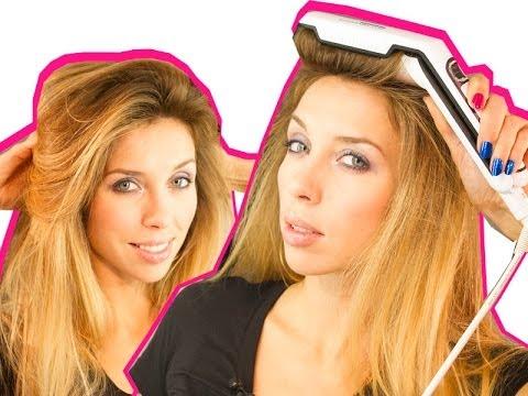 ОБЪМНЫЕ ВОЛОСЫ: как поднять волосы у корней - VOLUMIZER от ROWENTA