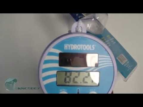HYDROTOOLS SWIMLINE SOLAR POOL THERMOMETER