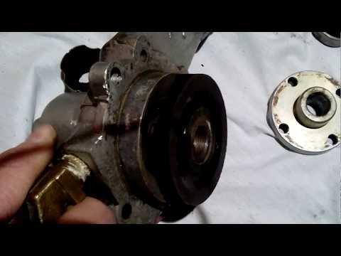 ремонт помпы УАЗ 417 двиг