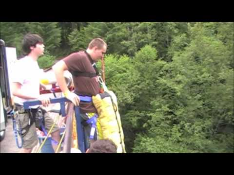 First Time Bungee Jumping!!!