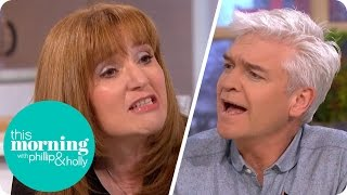 Holly Is Shocked at Guest