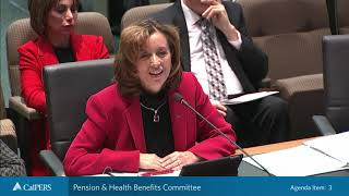 Pension & Health Benefits Committee on December 18, 2018