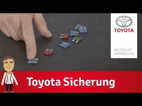 Die Sicherung und der Sicherungskasten bei Toyota | Dirk erklärt's