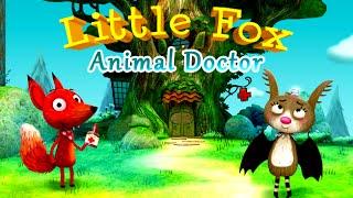 Доктор для лисенка. Little Fox Animal Doctor. Развивающий мультик (ИГРА). Children