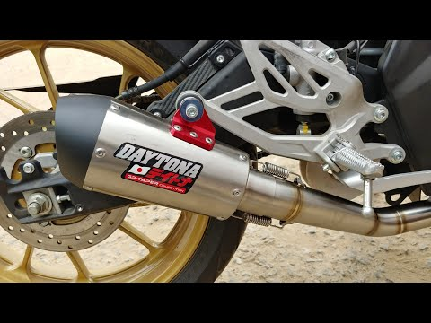 Daytona Exhaust On Yamaha R15 V3 Is LOUD | First Impressions Mp3