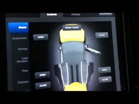 Tesla Model X Version 7 Interface and Controls Preview from Launch Event