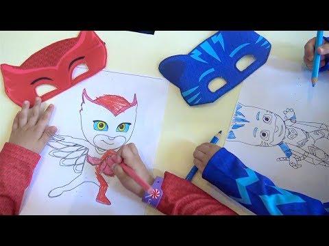 Download Pijamaskeliler Boyama Crayola Color Wonder Lekesiz Boyama