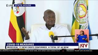 The president clarified on a number of measures