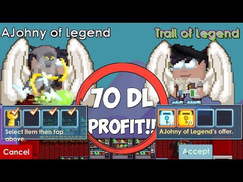 Growtopia - 70+ DLS Profit in 1 Day... [OMAGAD 😱]