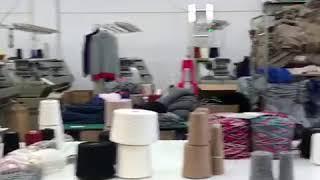 Sample room knitwear Italy