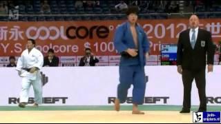 Judo 2012 Grand Prix Qingdao: Asanuma (JPN) - Xu (CHN) [-100kg]