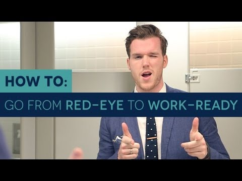 How to Survive Overnight Travel and Go from Red Eye to Work-Ready