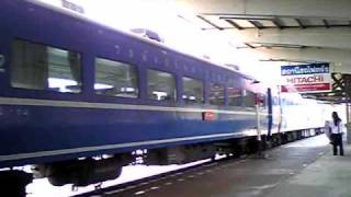 preview picture of video 'タイのブルートレイン Bangkok行き急行84列車'
