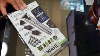 Wahl Stainless Steel Lithium Ion + hair nose ear groom detail Trimmer