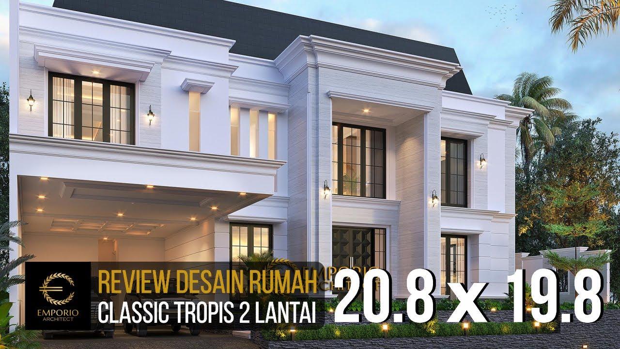 Video 3D Desain Rumah Modern Classic 2 Lantai Bapak Anthony - Jakarta Barat