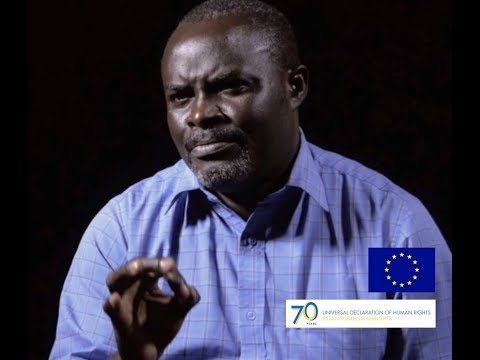 Portrait of Dr Godfrey Malembeka, Prisoners' Rights Defender in Zambia
