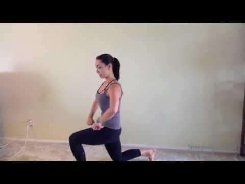 Bodyweight Lunge and Twist