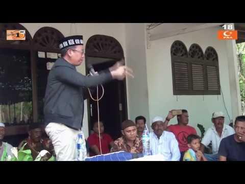 Orasi Politik Dedi Safrizal ; Penerangan MoU GAM & RI