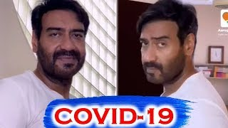 Watch Ajay Devgn Latest Video on COVID-19 in India