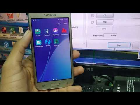 Samsung J200h Hang On Logo Solution