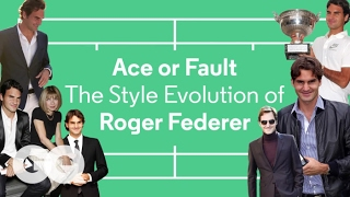 "Roger Federer Slightly Regrets His ""Comfy Period"" | GQ"