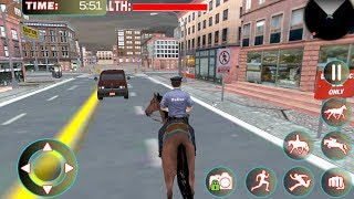 Police Horse Criminal Chase 3D (by 4wheelgames) Android Gameplay [HD]
