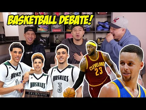 HYPETALK: WHO ARE THESE BALL BROTHERS?! NBA TALK!!