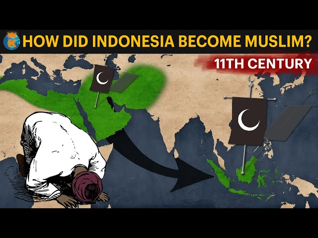 How did Indonesia become Muslim?