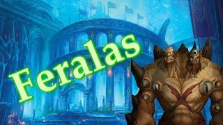 The Story of Feralas, From part of the night elf empire to a hatching ground for hippogryphs [Lore]