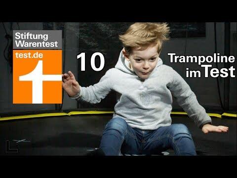 Test Trampoline: Dieses Gartentrampolin kann gefährlich werden