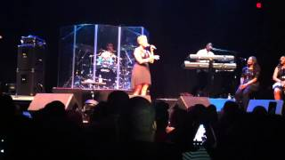 "Chrisette Michele singing ""I don't know why, but I do"""