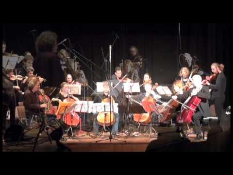 Cologne String Big Band feat. Roger Hanschel (sax) & Ernst Reijseger (cello)