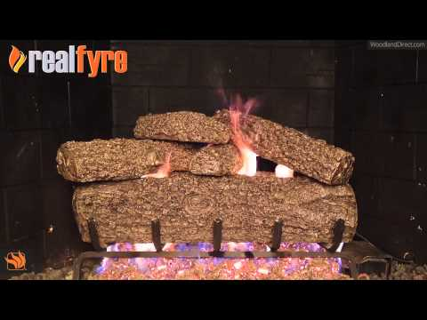 Real Fyre Post Oak Vented Gas Log Set