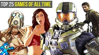 Top 25 BEST Video Games of ALL TIME | Chaos